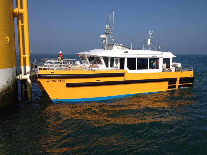 Windgrip® system - Windcat Workboats